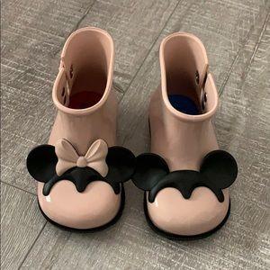 Mini Melissa minnie boots